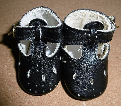 Sasha Baby Doll Shoes - In Black Leatherette - Bought On Ebay Some Time Ago