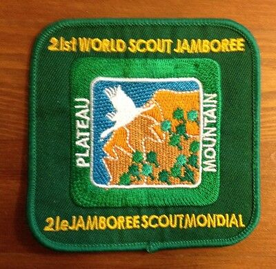 Scout 21st World Scout Jamboree cloth badge