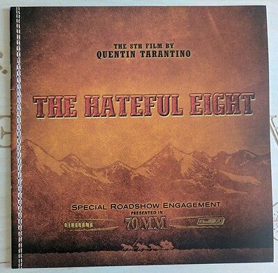 The Hateful Eight - Premiere Odeon Leicester Square Programme