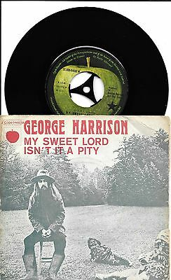 GEORGE HARRISON - My Sweet Lord - VERY RARE FRENCH ISSUE - 2C 006-04692 M - VG++