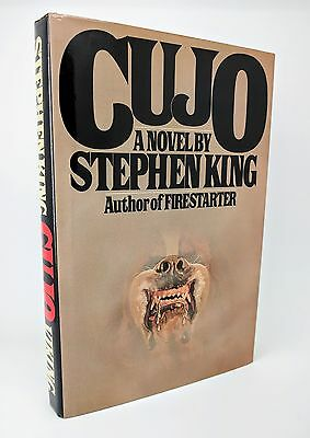 Cujo by Stephen King - US First Edition, First Printing 1st/1st