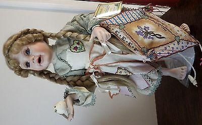 Porcelain and cloth doll, Gabrielle from Hamilton Collection