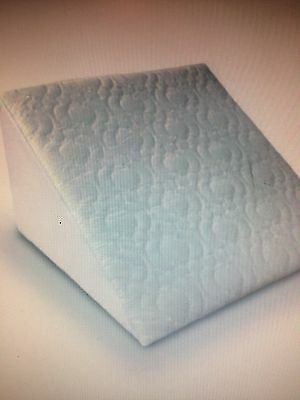 Super Deluxe Bed Wedge Orthopaedic Pillow Quilted Removable Cover