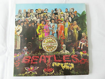 THE BEATLES Sgt Peppers Lonely Hearts Club Band LP Stereo 1967