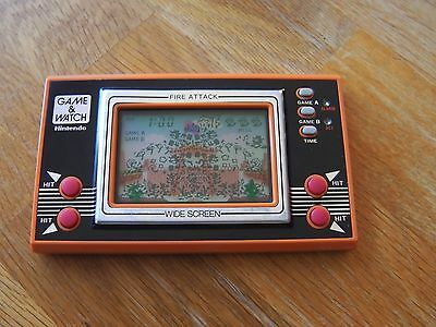 "Lcd game Nintendo "" Fire attack "" game watch"