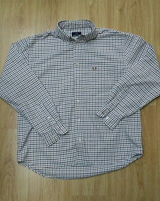 Large Classic Fred Perry long sleeved shirt