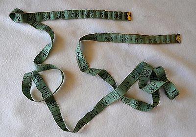 Vintage Cotton Tape Measure. Made in England, circa 1950/60. Lovely Piece.