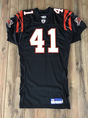 Lorenzo Neal Game Issued Un Worn Used Bengals Jersey