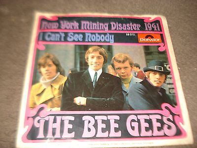 The Bee Gees - New York Mining Disaster 1941, Rare Picture Sleeve, Ex/ex