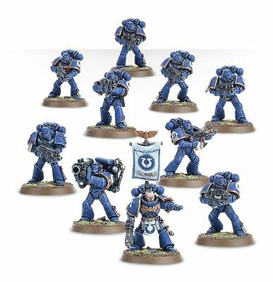 Warhammer 40K Space Marine Tactical Squad New on Sprue