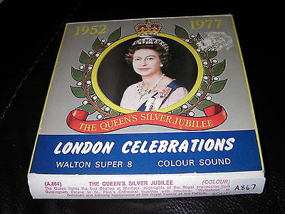 Super 8mm - The Queens Silver Jubilee - Sound - 200ft