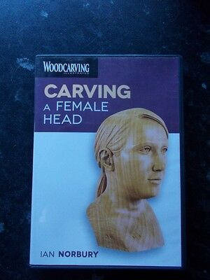 Carving A Female Head DVD By Ian Norbury