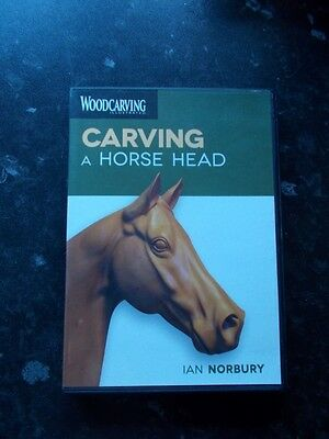 Carving A Horse Head By Ian Norbury DVD
