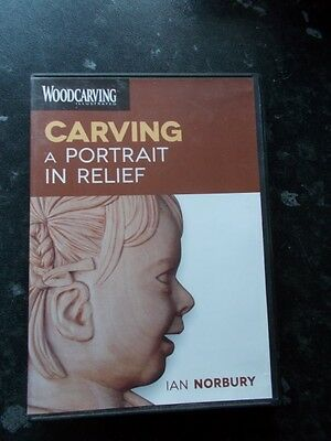 Carving A portrait In Relief Ian Norbury DVD