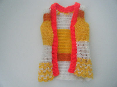 mary quant coloured waisdoat wool