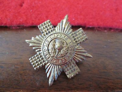WWI/WWII? Scots Guards Badge