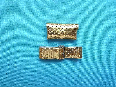 Vintage Barbie Gold Dimple Belt And Purse From 1960's