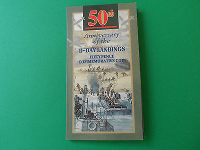 1994 -50th Anniversary of the D-Day Landings Fifty Pence Commemorative Coin