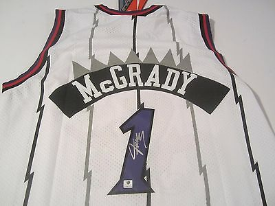 Tracey Mcgrady - Nba All Star - Hand Signed Official Nba Team Nike Jersey -  Coa