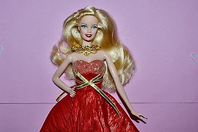 Barbie Collector 2014 Holiday Doll - Model Muse - Red and Gold