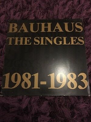 Bauhaus The Singles 1981-1983 Vinyl LP