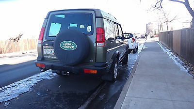 2001 Land Rover Discovery II series SE 2001 land rover Discovery AWD,Green, 110,500 miles