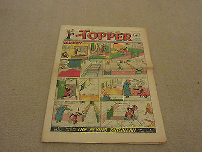 THE TOPPER COMIC, No 519- Jan 12th 1963- with  BERYL THE PERIL- good condition-