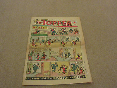 THE TOPPER COMIC, No 521- Jan 26th 1963- with  BERYL THE PERIL- good condition-