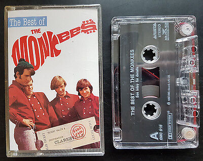 The Monkees - The Best Of - Cassette