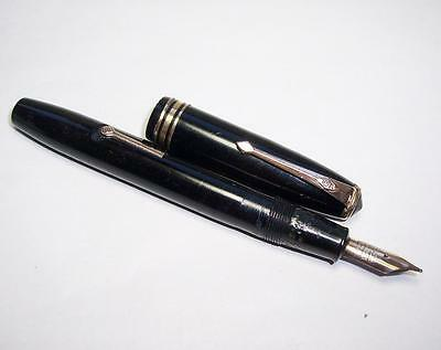 Vintage CONWAY STEWART 58 FOUNTAIN PEN 14ct GOLD NIB - Spares/Repairs