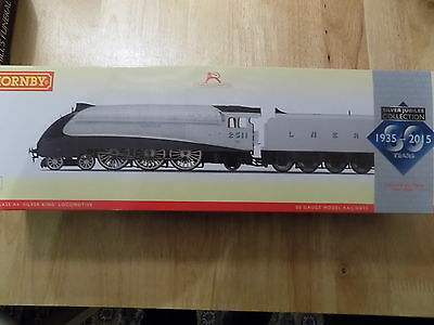 Hornby R3308 A4 Silver King Fitted With Esu Lock Sound 4 Chip Boxed