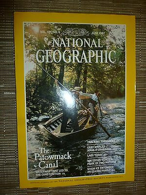 National Geographic  THE PATOWMACK CANAL - JUNE 1987