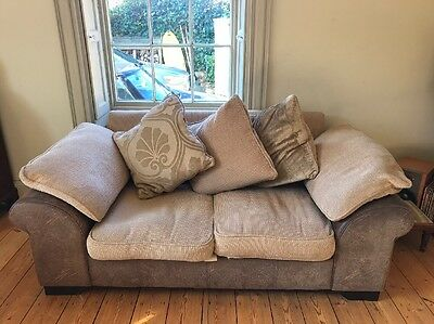 Sofa X 2 - 2 Seater And 3 Seater Sofa Combo Suite