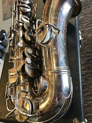 Vintage Conn Alto Sax New Wonder 1923-24 Nice