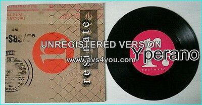 "Resinate: Brown Paper Bag 7"" CHECK VIDEO. Earache ‎Records '96. Tool, Prong"