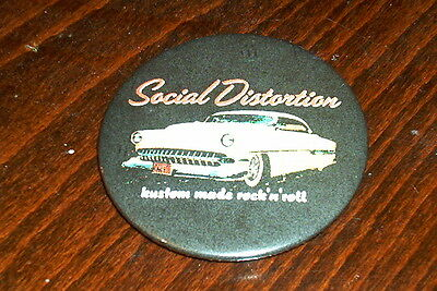 Social Distortion fridge magnet 58mm - punk / rockabilly / country #1
