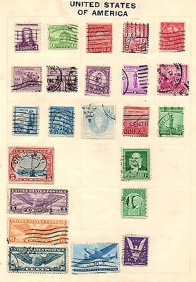 Stamps from USA