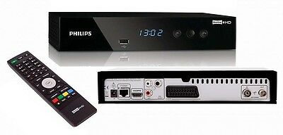 Philips HDTP 8530 Freeview+ HD Twin Tuner TV PVR Digital Recorder 500GB & Remote