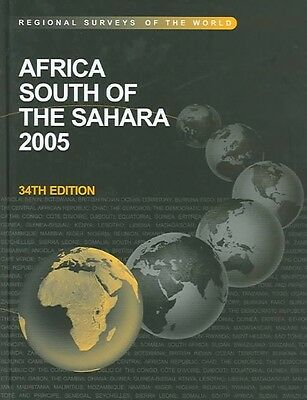 Africa South of the Sahara 2005 by Hardcover Book (English)