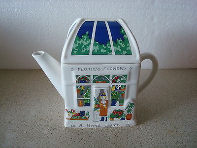 Wade England Teapot Florie's Flowers
