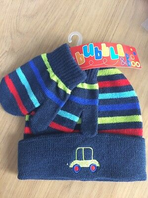 boys hat and gloves set