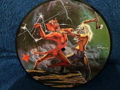 Iron Maiden Run To The Hills 7Inch Picture Disc