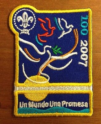 Scout One World One Promise cloth badge