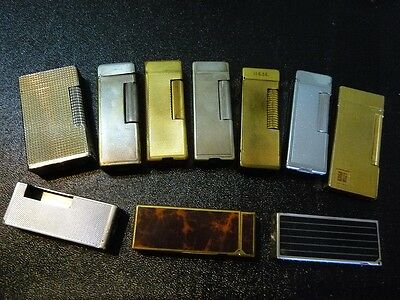 Job/Mixed Lot of Lighter Parts/Spares some complete mainly Dunhill