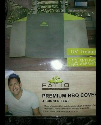 Patio Premium thick quality 4 burner Barbecue Cover, UV TREATED, BRAND NEW