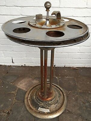 SRR SOUTHERN RAILROAD Dining Club Car Smoke Stand ASHTRAY ALL ORIGINAL