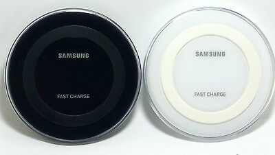 Genuine Samsung Fast Charge Qi Wireless Charging Pad, for Galaxy S8/S7/S6/Note 5