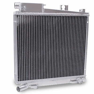 HIGH FLOW ALUMINIUM ALLOY RACE RADIATOR RAD FOR BMW E30 325i 85-87 42MM 3 SERIES