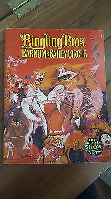 1974 Ringling Bros and Barnum & Bailey Circus Program! Excellent Condition!!!