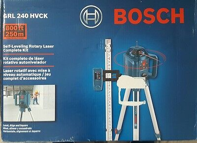 BOSCH Self Leveling Rotary Laser Complete Kit